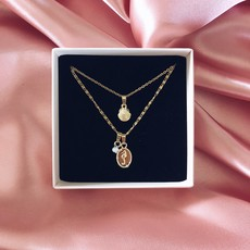 Seahorse Treasure - Goud