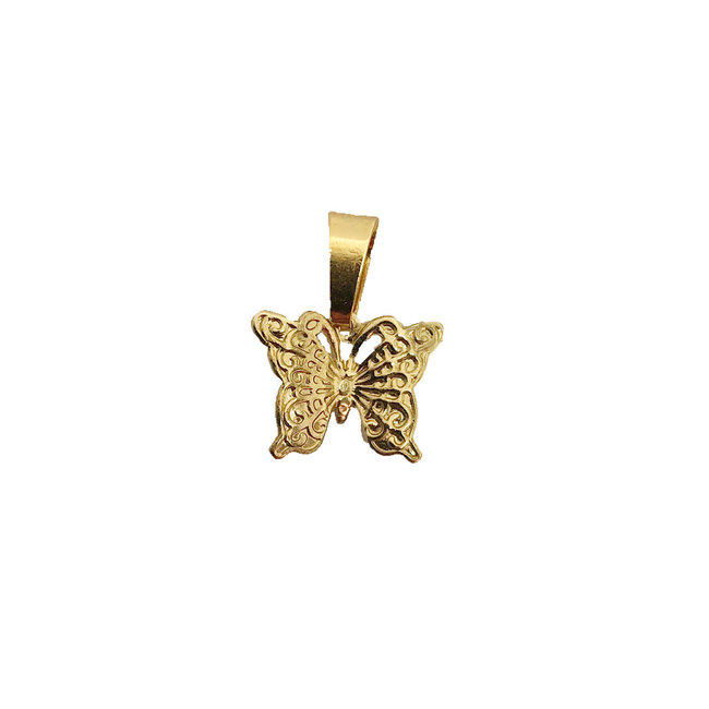 Bubbly Butterfly - Goud
