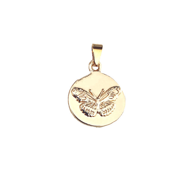 Popping Butterfly - Goud