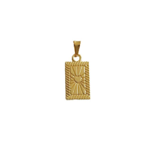 Heart Amulet - Goud