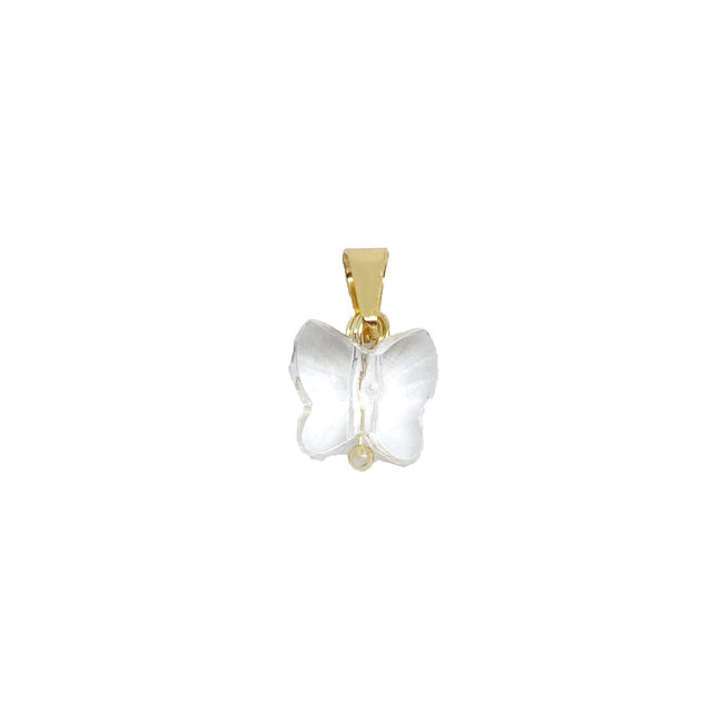Crystal Butterfly - Goud