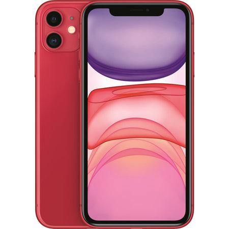 Iphone 11 128GB Rood Nieuw