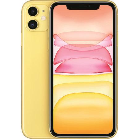 Iphone 11 256GB Geel Nieuw