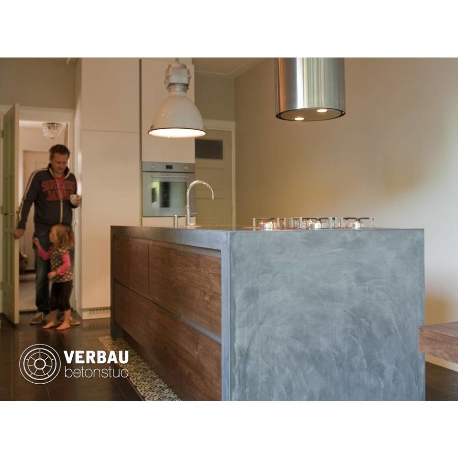 Workshop KEUKENMEUBEL in VERBAU-betonstuc kant&klaar-2