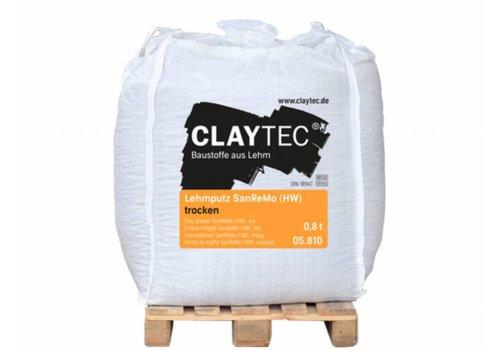 Claytec leempleister SanReMo, bigbag 800 kg