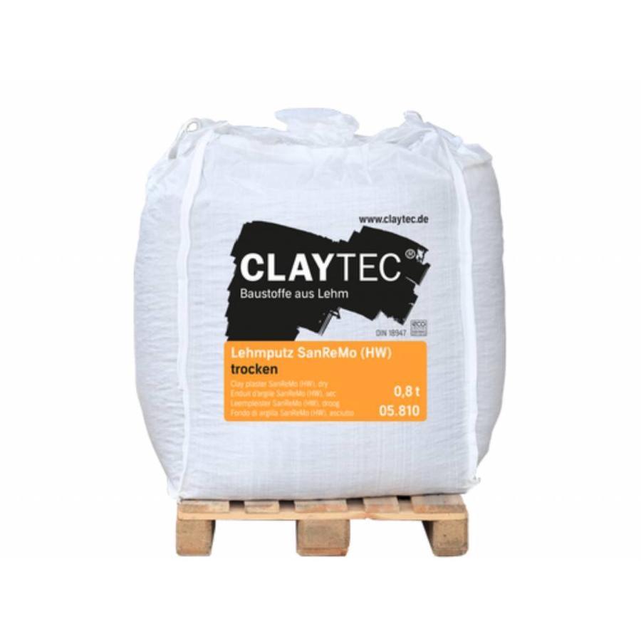 Claytec leempleister SanReMo, bigbag 800 kg-1