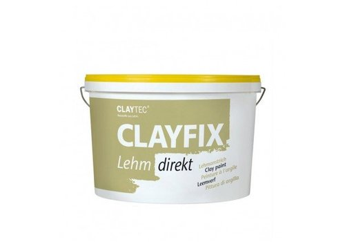 Clayfix leemverf, glad, 10 kg