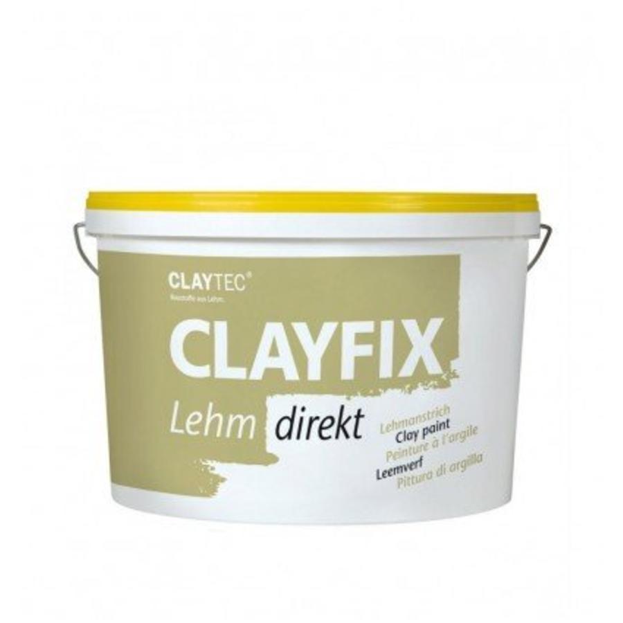 Clayfix leemverf, glad, 10 kg-1