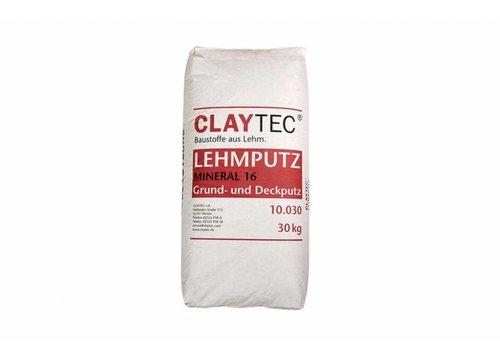 Basisleem droog zonder stro (mineraalpleister), 30 kg