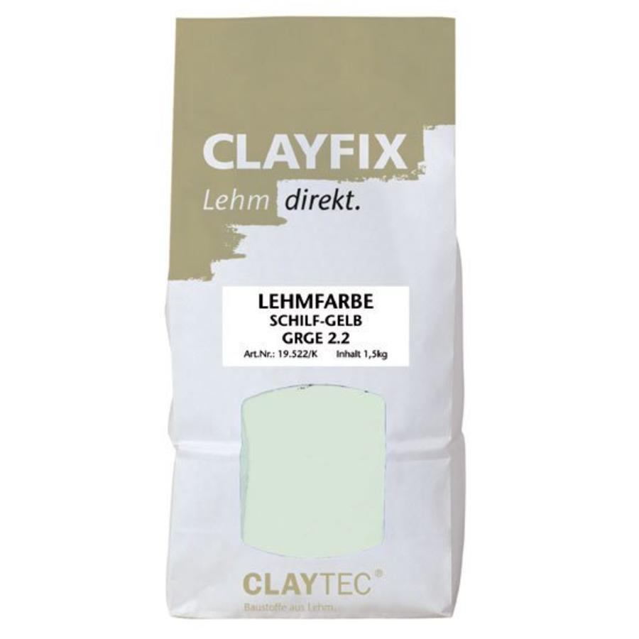 Clayfix leemverf, glad, 1.5 kg-1