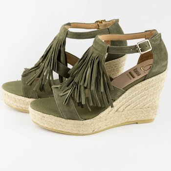 kanna Fringe wedges