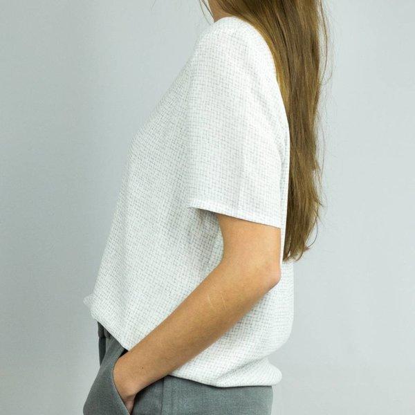 Selected Printed short sleeve top