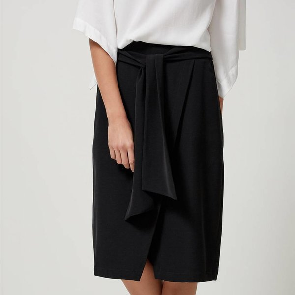Selected Bow tied skirt