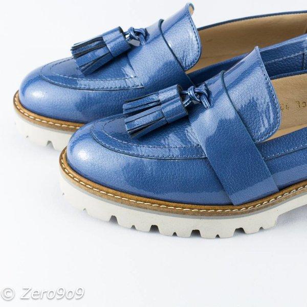Gadea Blue Moccasin