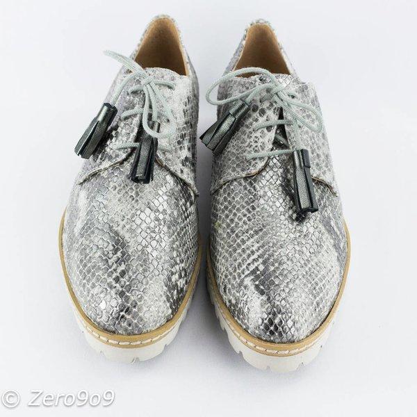 Gadea Python printed shoes