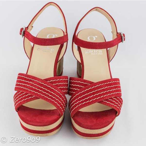 Gadea Red sandals