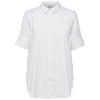 Selected Short sleeve white shirt