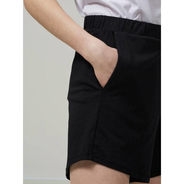 Selected Mid waist black short