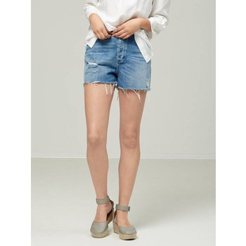 Selected Blue Denim Shorts
