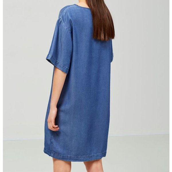Selected Oversized jeans dress