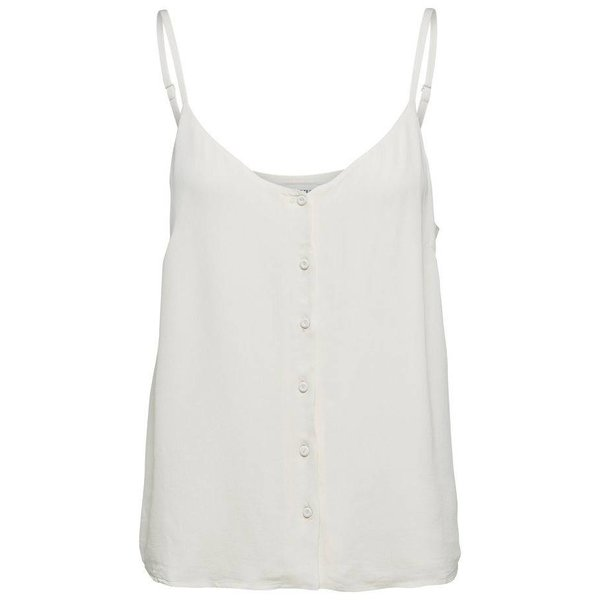 Selected Off white strap top (40)