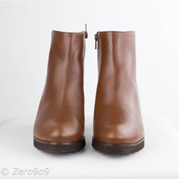 Gadea Cognac low boots (38)