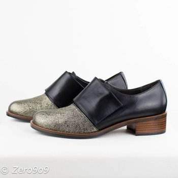 Gadea Dressed shoes gold tip (42)