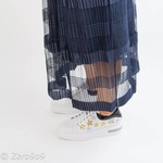 Selected Mid length lace skirt