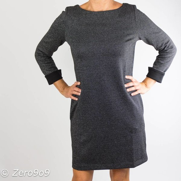 French Connection Jersey lurex dress