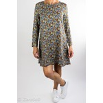 R95th Printed A-line dress