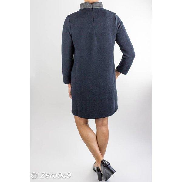French Connection Ellen Texture Elegant Dress