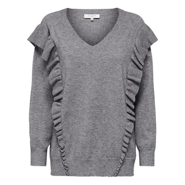 Selected Soft ruches knit