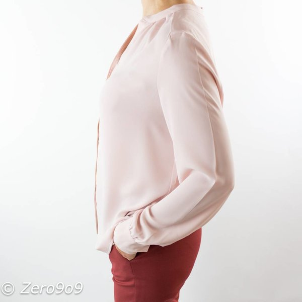 Selected Pink long sleeve shirt (36)