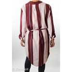 Selected Striped tunic dress