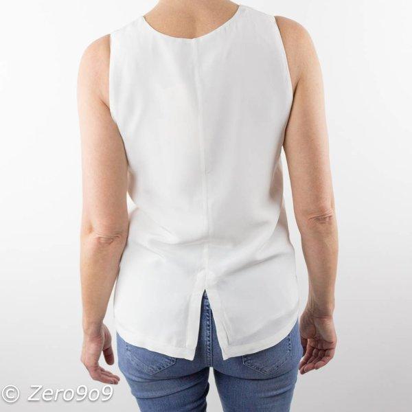 Selected Sleeveless silk top