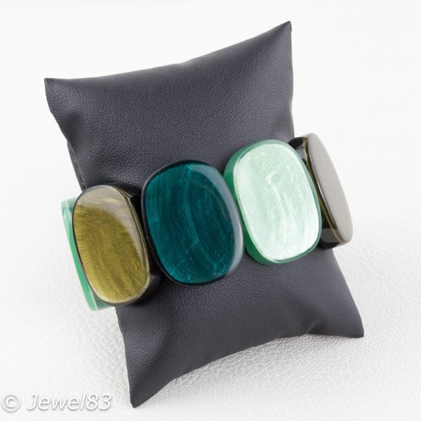 Culture Mix Green tone bracelet