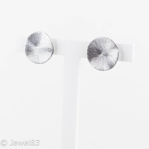 Culture Mix Silver leafs earrings
