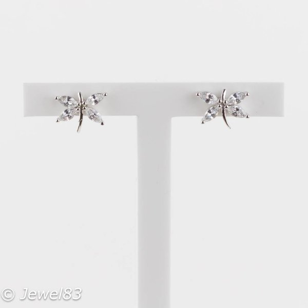 925e Dragonfly Earrings