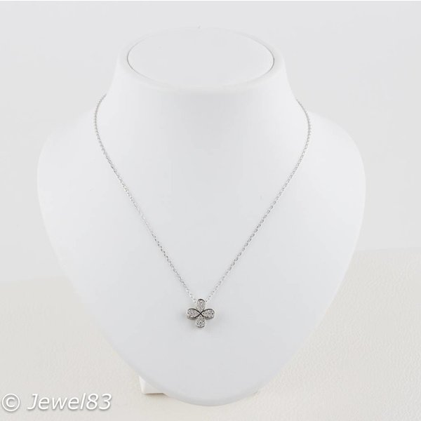 925e Flower necklace