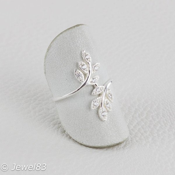 925e Leaf ring