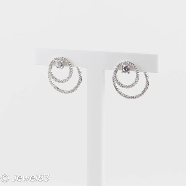 925e Multihoops earrings