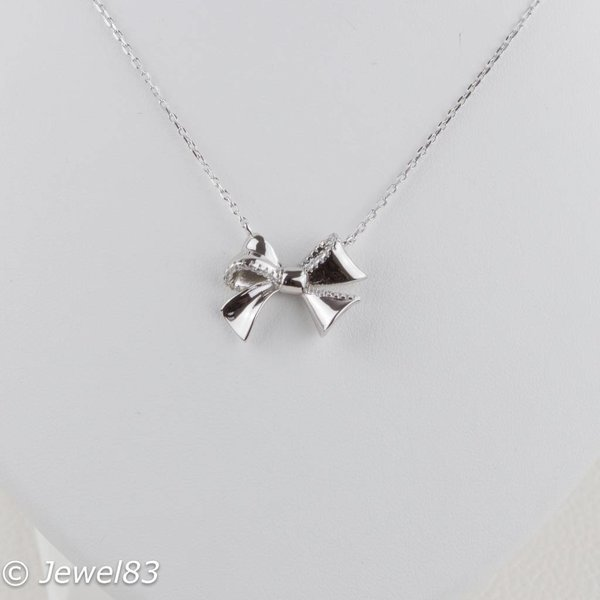 925e Bow necklace