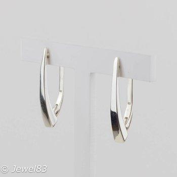925e Half hoop earrings