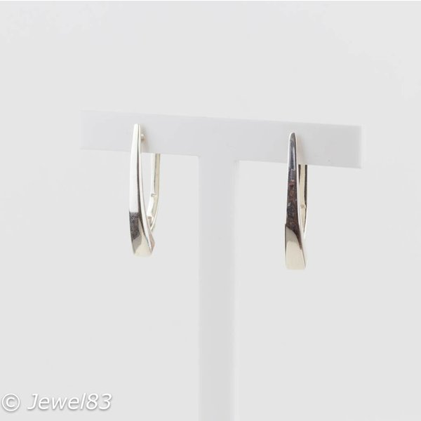 925e Half hoop earrings