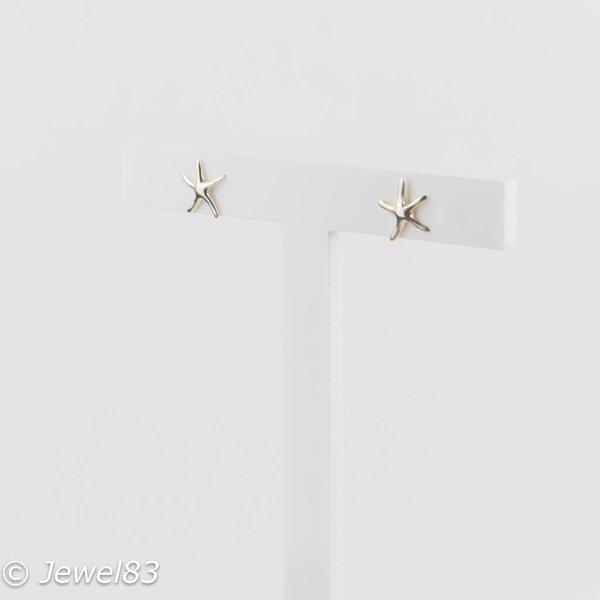 925e Starfish earrings