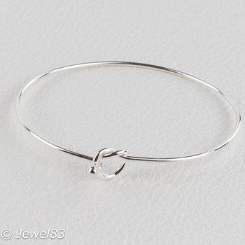 925e Knotted bracelet