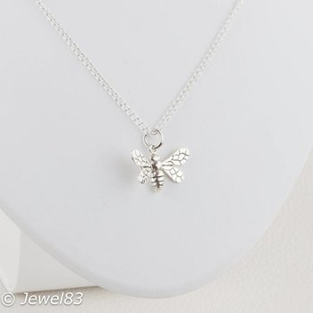 925e Bee necklace