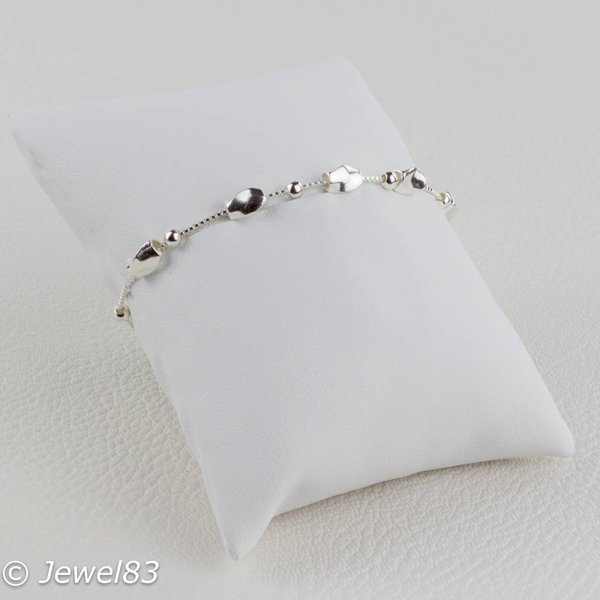 925e Silver element bracelet