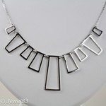 925e Cubism necklace