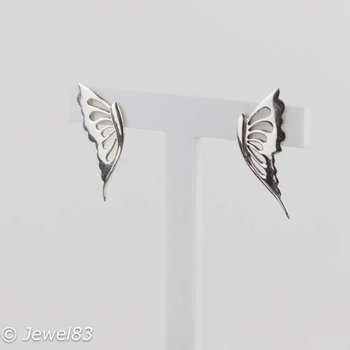 925e Butterfly earrings
